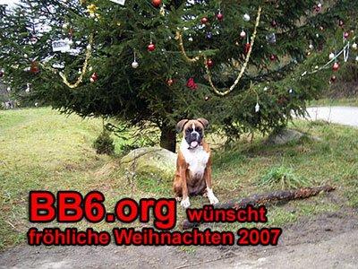 BB6.org wuenscht froehliche Weihnachten 2007